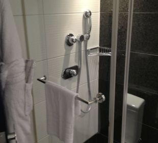 Shower also in the bathroom Park Plaza Riverbank London