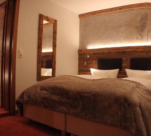 Schlafzimmer Appartement Riffler Haus Buchhammer