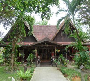 Haupthaus mit Restaurant Hotel Na Thai Resort