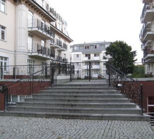 Zugang zum Haus Baltic Home Apartments