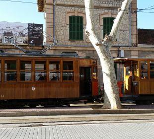 Straßenbahn Sollér SENTIDO Porto Soller