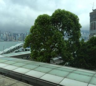 Veiw from window InterContinental Hotel Grand Stanford Hong Kong