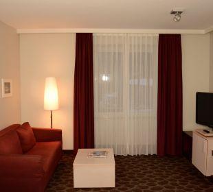 Sofa-Ecke mit TV AKZENT Hotel Kaliebe