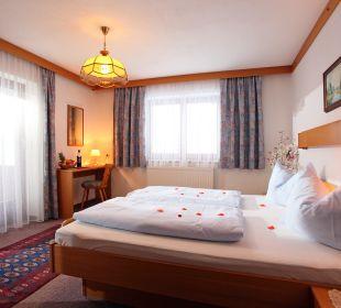 Beispiel Doppelzimmer mit Dusche/WC Pension Tannenhof