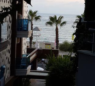 Ausblick  Hotel Kleopatra Celine