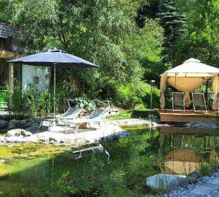 Pavillon am Teich Gartenhotel THERESIA