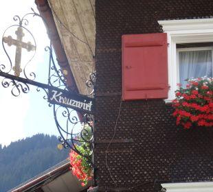 Außenansicht Gasthof Kreuz