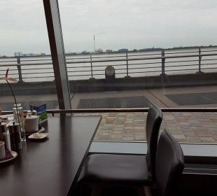 Ausblick aus dem Restaurant  Atlantic Hotel Sail City