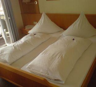 Doppelbett Schwandenhof Ferienwohnungen