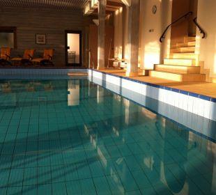Schwimmbad Morgensonne Seehotel Gut Dürnhof
