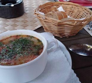 Fischsuppe!  Hotel Villa Gropius