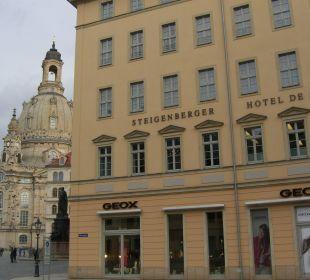 Direkt an der Frauenkirche! Steigenberger Hotel de Saxe