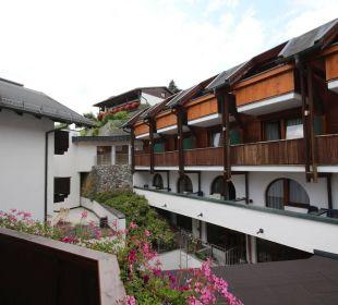 Auf den Innenhof Hotel St. Peter