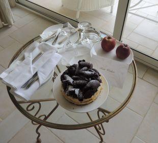 Zum Empfang auf dem Zimmer Hotel Grecotel Eva Palace