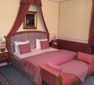 Doppelbett Jr. Suite Hotel Sacher