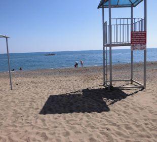 Blick zum Meer Linda Resort Hotel