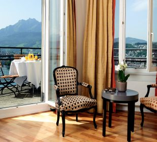 Jean Novel Suite Art Deco Hotel Montana Luzern