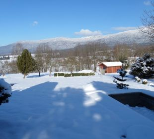 Garten im Winter 2015 Landhotel Rappenhof