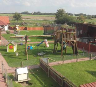 Kinderspielplatz Ferienhaus Wattkuckuck