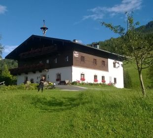 Haupthaus Pension Wiesfleck