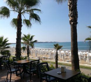 Blick von der Strandbar  Hotel Horus Paradise Luxury Club
