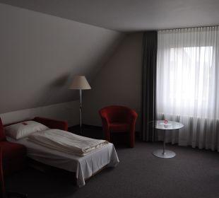 Raumansicht Comfor Hotel Frauenstrasse