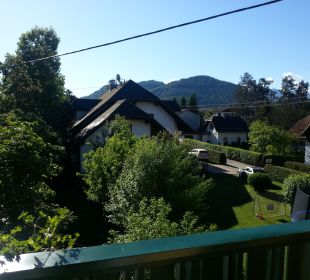 Ausblick vom balkon Hotel Ariell