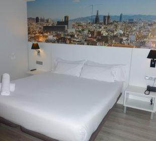 Doppelbett Hotel Andante