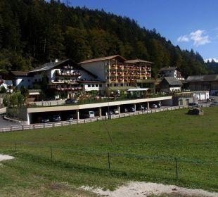 Außenansicht /Lage Hotel Sulfner