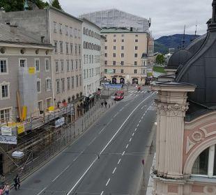 Ausblick Hotel Sacher