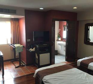 Zimmer mit Blick ins Bad Hotel Siam Heritage