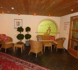 Sitzecke im Spa-Bereich Hotel Lamark
