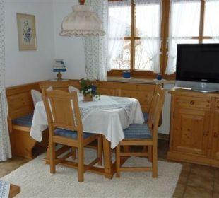 Wohnzimmer Enzian Landhaus Haid