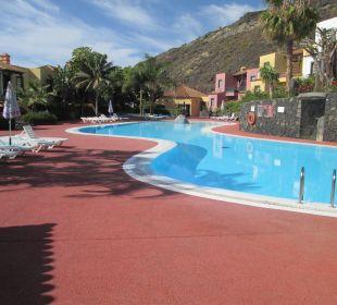 Sehr schön gepflegter Pool Hotel Oasis San Antonio