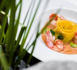 Raffinierte Ravioli mit Shrimps Wohlfühlhotel Falzeben