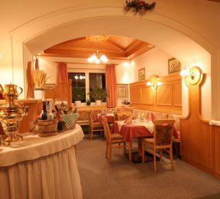 Speiseraum für unsere Pensionsgäste Hotel Alpenrose