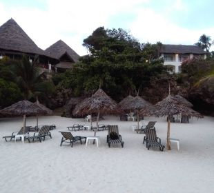 Diani-Beach, Strand-Liegen-Hotel Leisure Lodge Resort