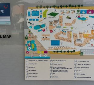 Hotel Map FAMILY LIFE Marmari Beach by Atlantica
