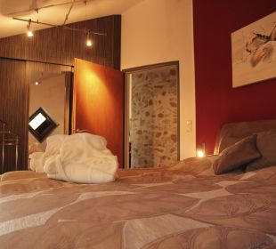 Schlafzimmer Apartments Ferienparadies Alpenglühn