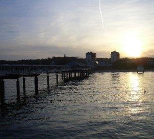 Von der Seebrücke aus