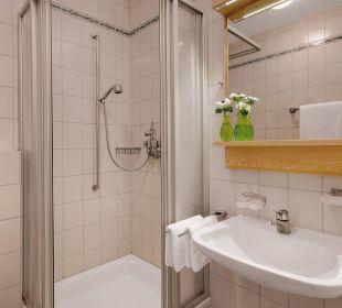 Badezimmer GOLD-Ahorn Berggasthof Hotel Fritz