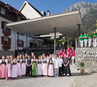 Traubeteam © Hotel Traube  Traube Braz Alpen.Spa.Golf.Hotel