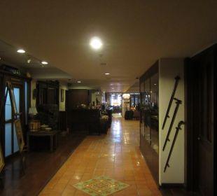 Gang zur Lobby Hotel Siam Heritage