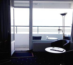 Blick zum Balkon Carat Golf & Sporthotel Residenz