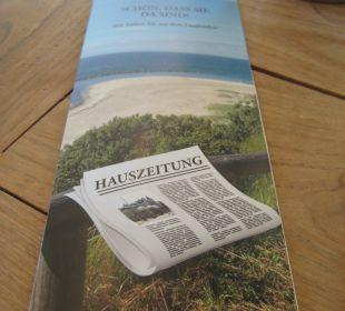 Tägliche Hauszeitung Vier Jahreszeiten Kühlungsborn -  Hotel