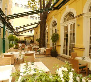 Gartenanlage Hotel Stefanie