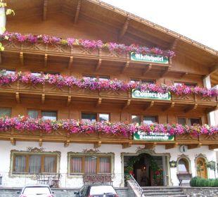 Hoteleingang Donnerhof Hotel Donnerhof