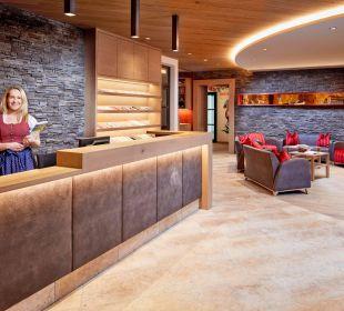 Der neue Empfangsbereich Kinderhotel Felben