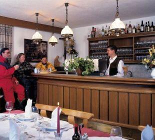 Bar im Gasthof Bären Holzgau Lechtal Gasthof Bären
