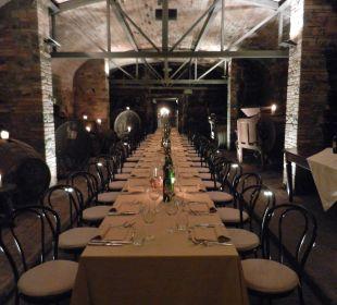 Weinkeller-Dinner Hotel & Wine Resort Villa Dievole